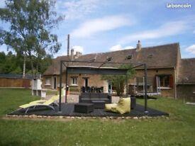 House in France, near Le Mans