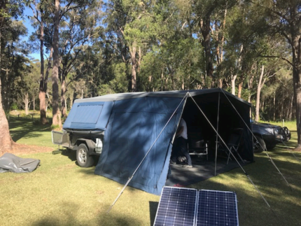 Austrack camper trailer Fingal Head Tweed Heads Area Preview
