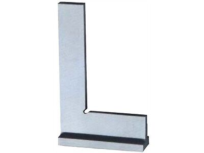 90° WIDE BASE 6 x 4 INCH MACHINIST STEEL SQUARE