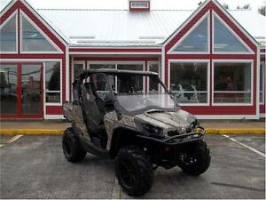 SOLD!!! 2012 CAN AM COMMANDER XT 800