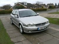 2004 JAGUAR X-TYPE SE D 2.0 DIESEL ESTATE SILVER 12 MONTH M.O.T.