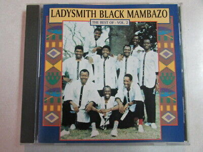 LADYSMITH BLACK MAMBAZO THE BEST OF VOL.2 PRE-OWNED 16 TRK CD WORLD AFRICAN