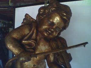 Large Hanging Cherub or Angel Christmas Window Display