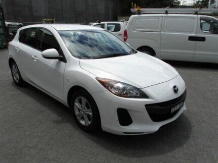 2012 Mazda 3 BL 11 Upgrade Neo White 6 Speed Manual Hatchback