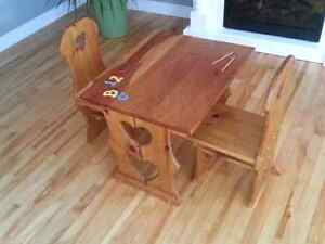Children's Play Table and Chairs