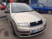 2006 Skoda Fabia, starts and drives well, very low mileage of 32,000, selling cheap because it has a