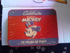 special addition mickey mouse card set