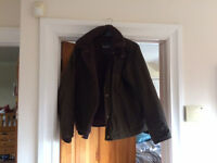 Boys Barbour Waxed Cotton Jacket Hardly Worn