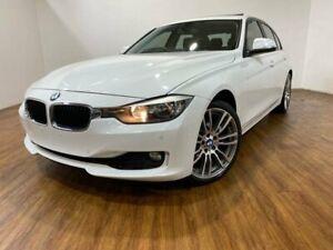 2014 BMW 320i F30 MY14 White 8 Speed Automatic Sedan Kingsgrove Canterbury Area Preview