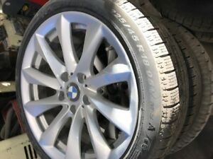 BMW MAGS AND WINTER RUNFLAT TIRES
