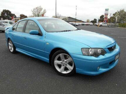 2004 Ford Falcon BA MkII XR6 Blue 4 Speed Auto Seq Sportshift Sedan Maidstone Maribyrnong Area Preview
