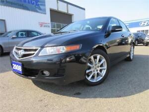 2008 Acura TSX Prem Pkg-NAVI,S ROOF,LEATHER,ALLOYS,WARANTY,$7495
