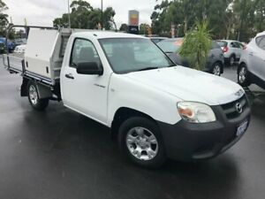 2011 Mazda BT-50 UNY0W4 DX 4x2 White 5 Speed Manual Cab Chassis East Bunbury Bunbury Area Preview