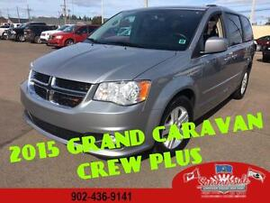 2015 Dodge Grand Caravan Crew Plus Leather, Dual DVD