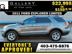 2011 Ford Explorer V6 4WD $159 bi-weekly APPLY NOW DRIVE NOW