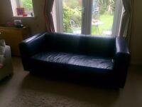 Black Ikea Klippan Sofa