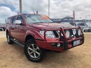 2014 Nissan Navara D40 S5 MY12 ST-X 550 Red 7 Speed Sports Automatic Utility Beresford Geraldton City Preview