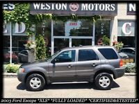 2003 Ford Escape XLS* FULLY LOADED* CERTIFIED&ETESTED