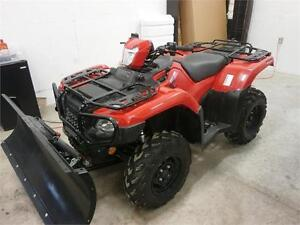 2016 HONDA RUBICON 500 FPA! WINCH/PLOW/46 KMS! AS NEW! $8995!