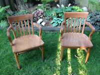 Classic Wooden Desk Chairs