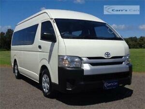 2014 Toyota Hiace TRH223R MY14 Commuter White Automatic Bus
