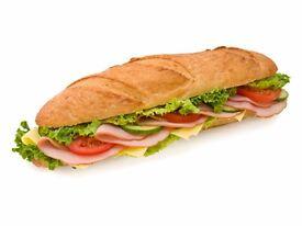Sandwich Shop Assistant