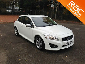2012.12.VOLVO C30.R-DESIGN. D2.TURBO DIESEL.WHITE.