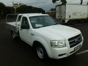 2008 Ford Ranger PJ 07 Upgrade XL (4x2) White 5 Speed Manual Cab Chassis Maidstone Maribyrnong Area Preview