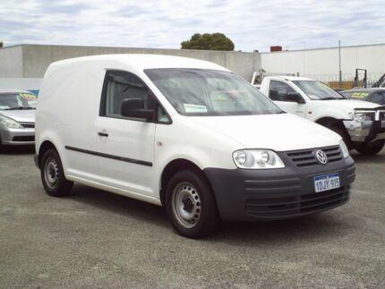2010 Volkswagen Caddy White Manual Van Embleton Bayswater Area Preview