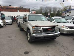 gmc canyon 2005 king cab $1350. carte credit accept 514-793-0833