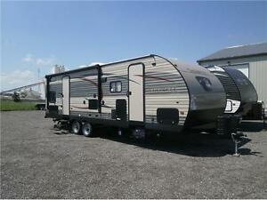2017 FOREST RIVER CHEROKEE LIMITED 264 CK! BUNKS/SLIDE! $27995!