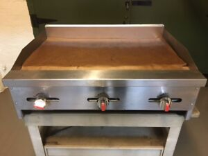 Natural Gas/ Propane Griddle, Propane Range, Equipment Stand