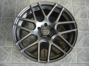 """Kit roues de mag avec pneus neufs 17"""" #M18"""