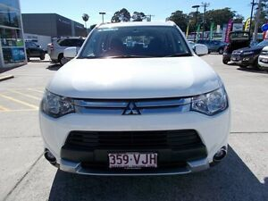 2014 Mitsubishi Outlander ZJ MY14.5 LS 2WD White 6 Speed Constant Variable Wagon Buderim Maroochydore Area Preview