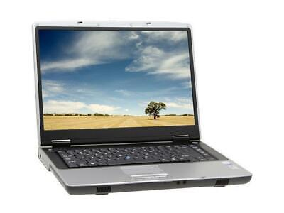 "GATEWAY/ACER M465 LAPTOP 1.67GHZ 4GB 250GB 15.4"" HD DVD WINDOWS 7 PRO WiFi HD"
