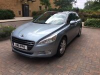 Excellent Condition Peugeot 508sw Hdi 1.6 Automatic, Parking Aid, Alarm, Full dealer history,2 keys