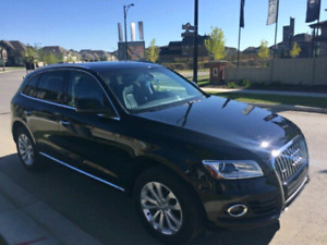 2015 Audi Q5 with Sunroof and Navigation with warranty