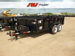 NEW 14' HYD Dump Trailer