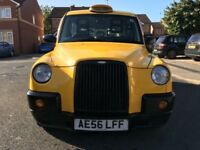 2006 (56) LONDON TAXI INTERNATIONAL TX4 BRONZE MANUAL YELLOW HACKNEY CAB