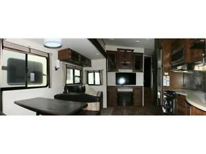 2017 FOREST RIVER HERITAGE GLEN LITE 356QB 5TH WHEEL RV TRAILER