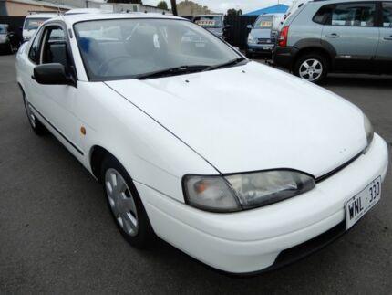 1991 Toyota Paseo EL44 White 5 Speed Manual Coupe