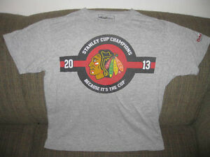 Chicago Black Hawks Coor Light Stanley Cup t hirt LG London Ontario image 1