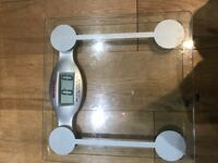 Glass LCD Bathroom Scales