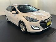 2014 Hyundai i30 GD Tourer Active 1.6 GDi White 6 Speed Automatic Wagon Clemton Park Canterbury Area Preview