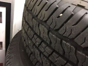 TIRES ARE OFF NEW TRUCK!