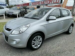 2011 Hyundai i20 PB MY11 Active Silver 4 Speed Automatic Hatchback Victoria Park Victoria Park Area Preview