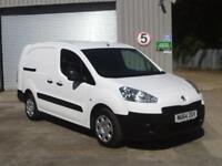 Peugeot Partner L2 750 S 1.6 92PS EURO 5 DIESEL MANUAL WHITE (2014)