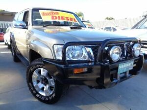 2008 Nissan Patrol GU 6 MY08 ST Gold 5 Speed Manual Wagon Enfield Port Adelaide Area Preview