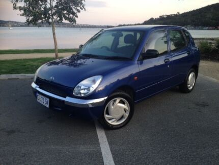 2002 Daihatsu Sirion, 4sp AUTO, LOW KM, Long Rego, in Great Cond Hobart CBD Hobart City Preview