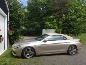 2012 BMW 6-Series Sahara Beige Convertible